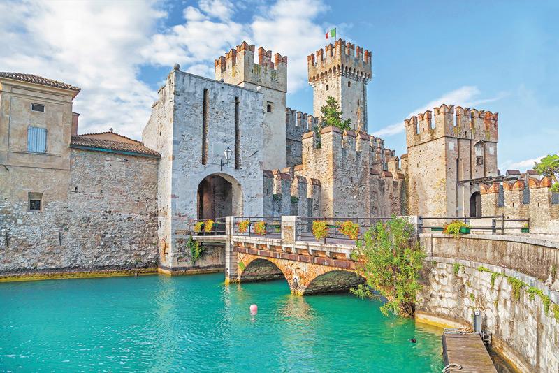 The walls of Lake Garda