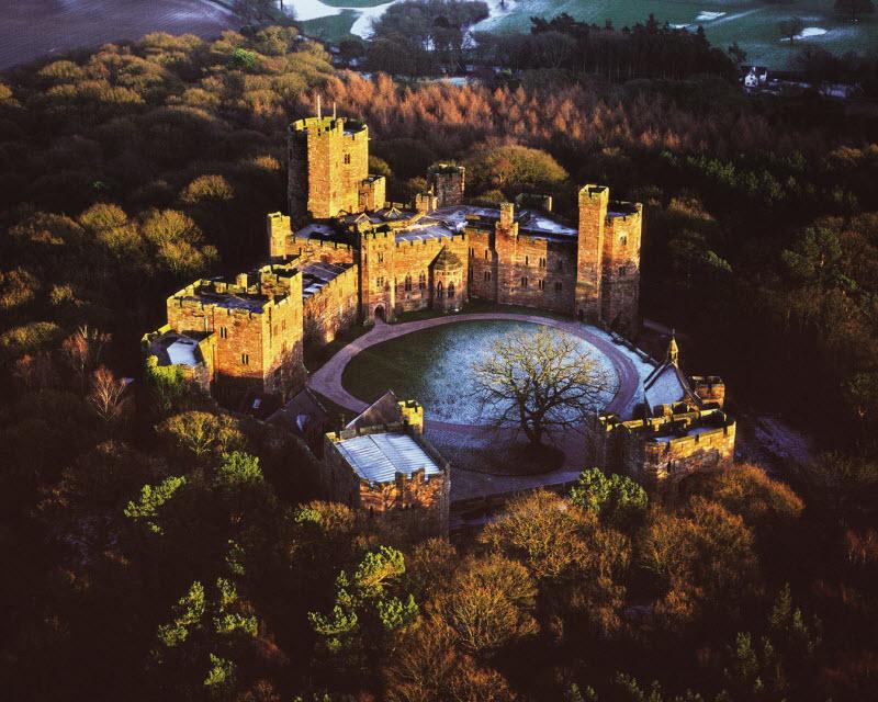 Peckforton Castle, Peckforton, England.
