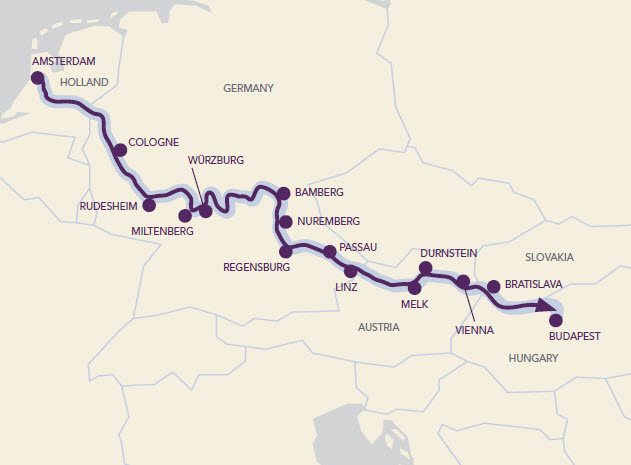 15 days, 15 cities and 5 countries: Avalon Impression will meander through the heart of iconic European countries from Budapest to Amsterdam on the Cycling River Cruise.