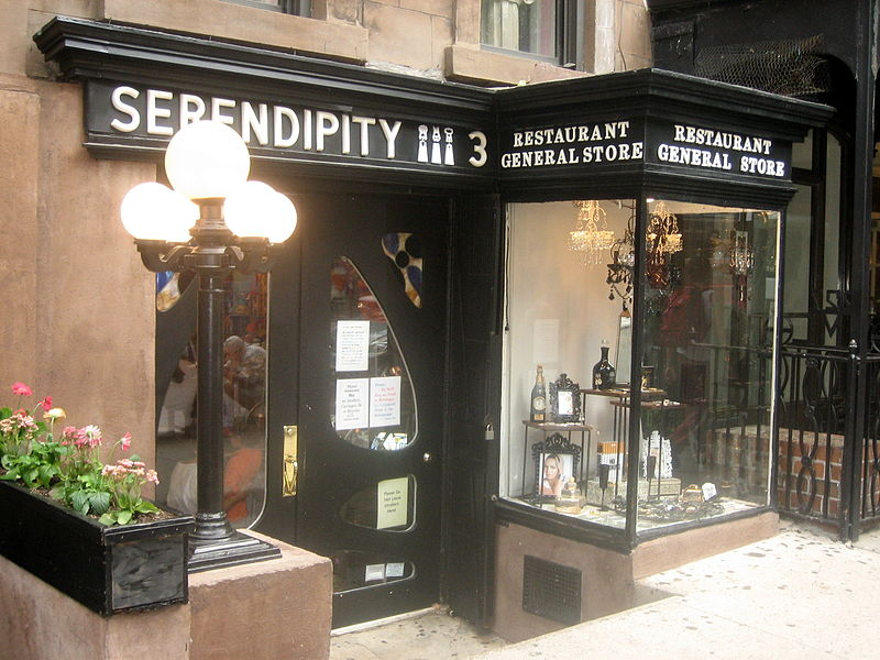 Entrance of Serendipity 3, the New York City dessert restaurant. Image courtesy of Ben W and Serendipity 3.