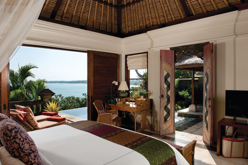 One Bedroom Ocean View Villa at the Four Season Resort Jimbaran. Image: Four Seasons Resort Jimbaran