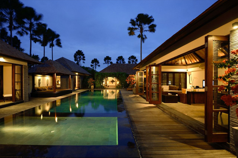 Five Bedroom Presidential Pool VIlla  at Peppers Seminyak. Image: Peppers Seminyak