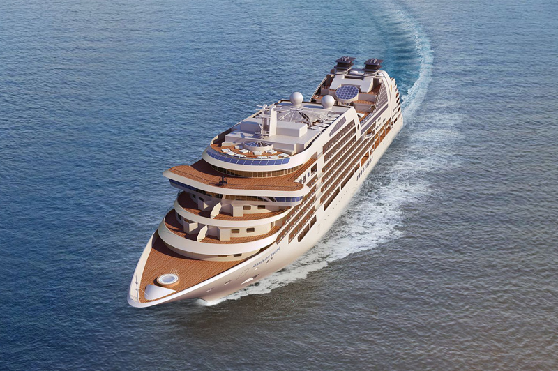 Seabourn Encore will expand and build on the line's award-winning and highly acclaimed Odyssey-class ships, which revolutionised ultra-luxury cruising when they were introduced between 2009 and 2011. Image: Seabourn