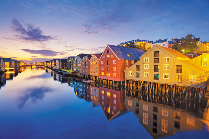 Trondheim, Norway. Image: Getty.