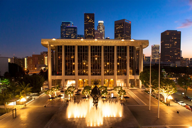 Dorothy Chandler Pavilion © Alex Pitt. Image courtesy of The Music Center.