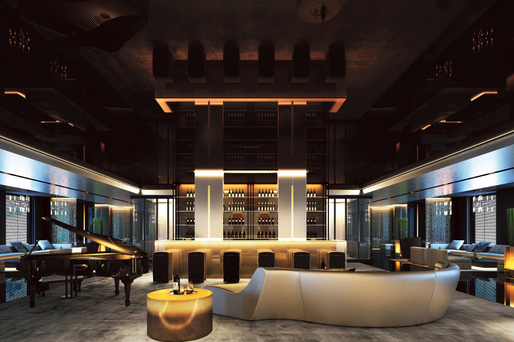 Dine and drink in the Lobby Bar (Image: Scenic)