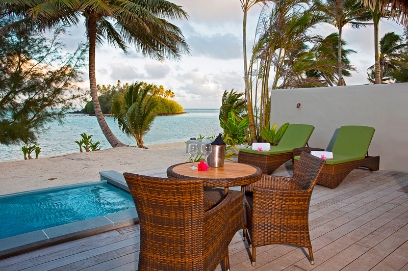 From your private pool and deck at Nautilus you