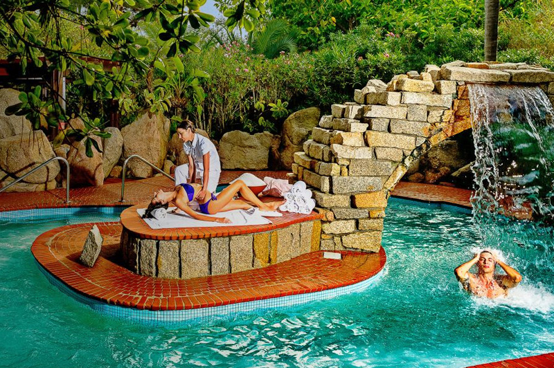 One of six intimate oases on the Wellness Circuit. Image: Amangiri