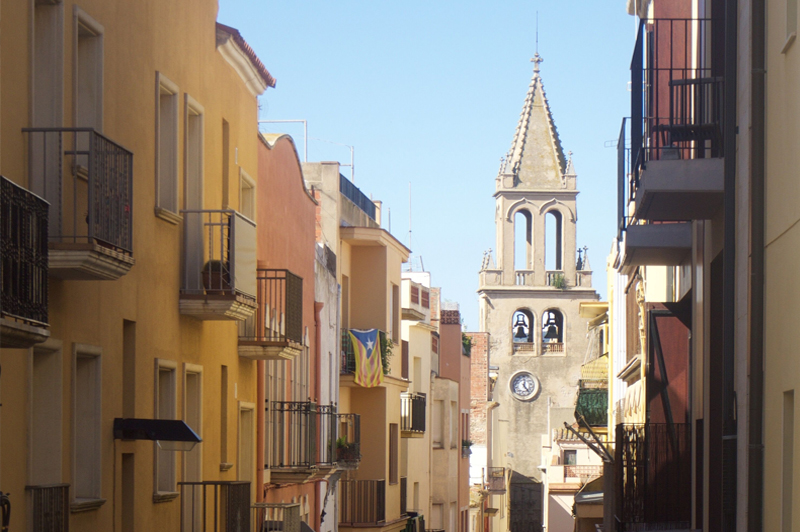 The atmospheric streets of Palamos, Spain. Image: Daniel Resnik.