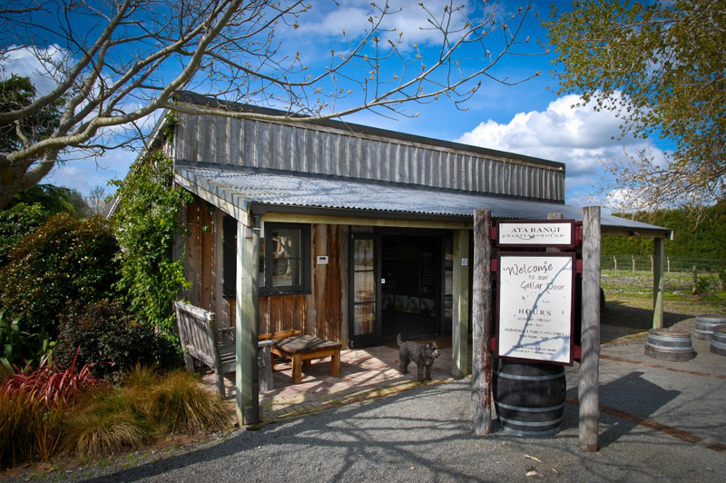 The Cellar Door of Ata Rangi, Martinborough. Image: Ata Rangi