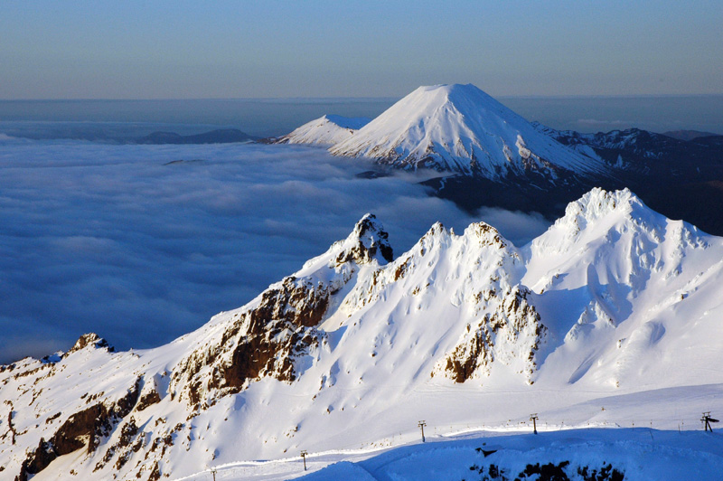 The majestic Mt Ruapehu Region. Image: New Zealand Tourism