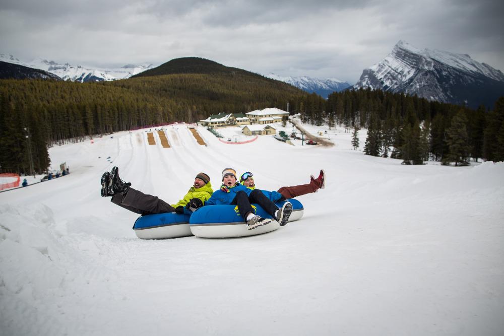 Fun for the whole family on Mount Norquay (Image: Banff Lake Louise Tourism / Paul Zizka Photography)