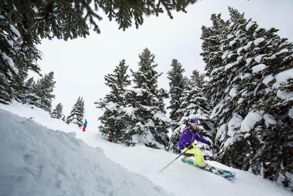 Got to love that pow pow (Image: Banff Lake Louise Tourism / Paul Zizka Photography)