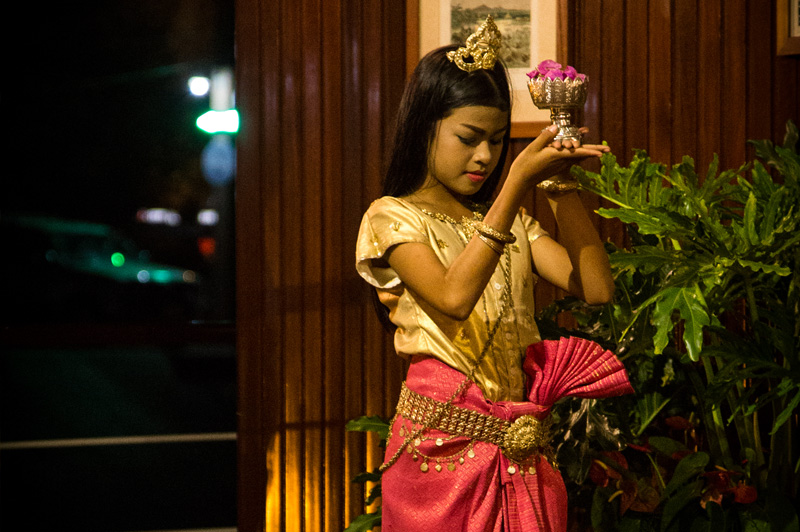 Young performer from the Cambodian Light Children Association near Phnom Penh. Image: Kim Lambert