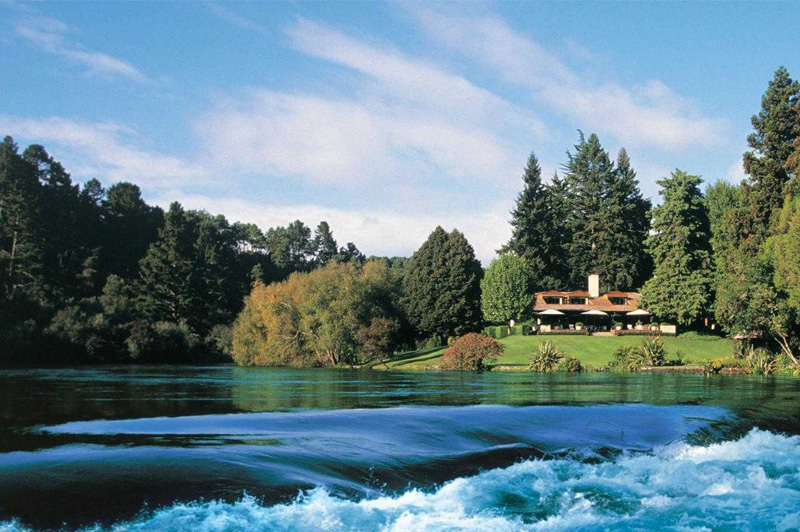 Huka Lodge near Taupo. Image: Luxury Lodges of New Zealand
