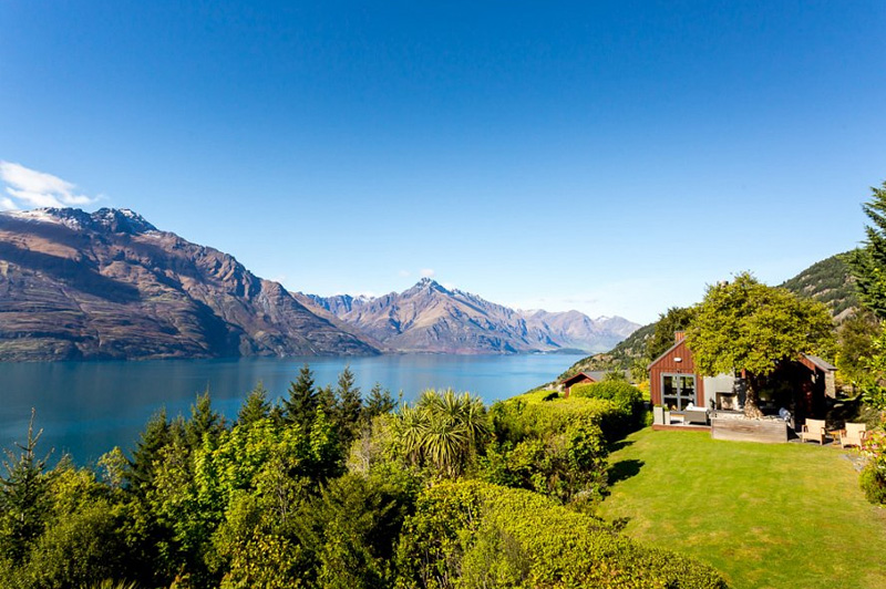 Azur Lodge in Queenstown. Image: Azur Lodge
