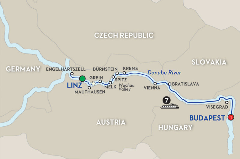 Hike, bike, canoe, cook and learn your way through Europe. Image: Avalon Waterways