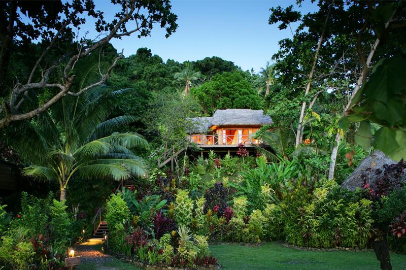 Domoni Treehouse. Image: Matangi Private Island Resort