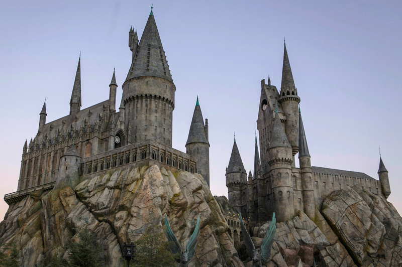 Hogwarts Castle at the Wizarding World of Harry Potter. Image: Universal Studios