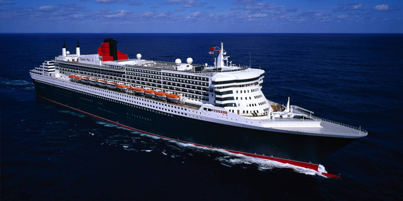 The Queen Mary 2 will undergo a 25-day refit from 27 May. Image: Cunard Line