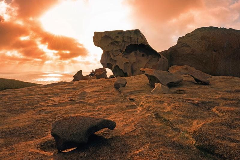 Remarkable Rocks. Image: South Australian Tourism Commission