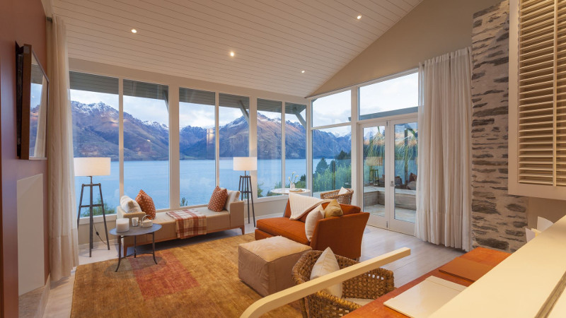 Luxury Lodges in New Zealand: Matakauri Lodge