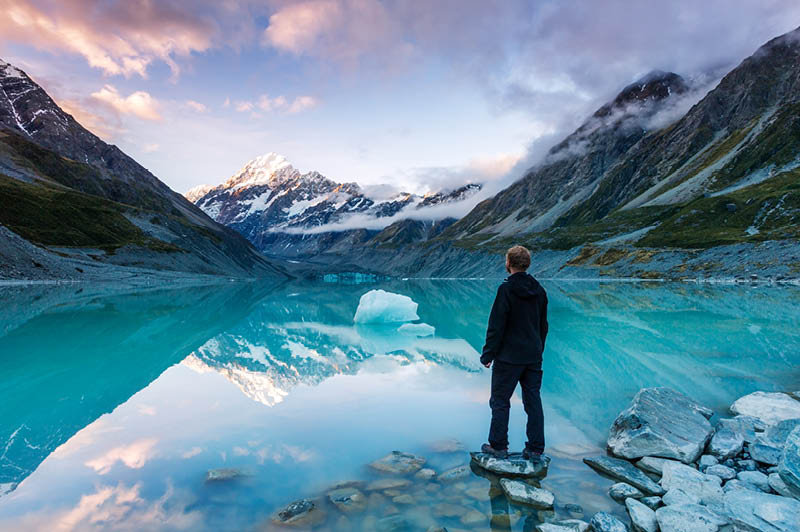 Mount Cook National Park, Tasman Glacier