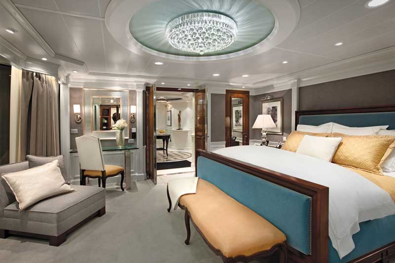 Oceania, OClass Owners Bedroom Suite