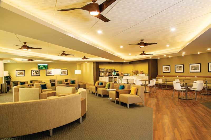 Hawaiian Airlines Plumeria Lounge