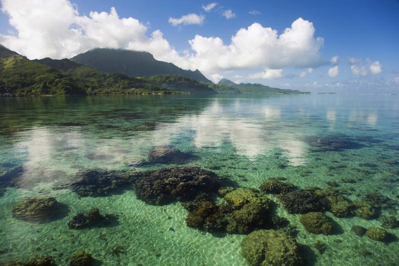Raiatea island french polynesia