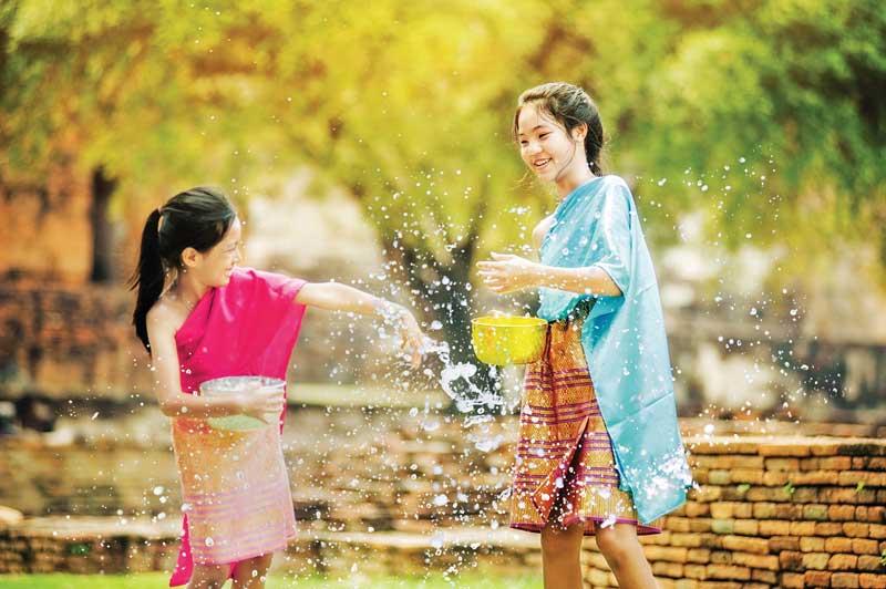 Songkran (New Year), THAILAND