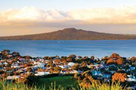 View of Rangitoto