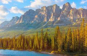 Castle Mountain Canadian Rockies