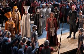 Oberammergau Passion Play.