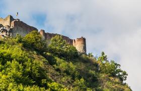 Poenari Castle in Romania