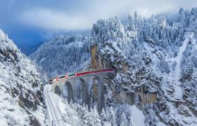 Landwasser Viaduct Switzerland