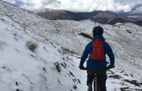 Feature heli biking Queenstown