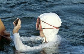 Pearl diver Japan