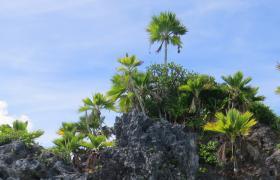 Fulaga lagoon in the Lau Islands of Fiji
