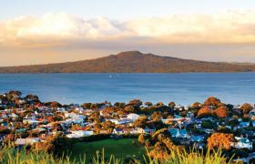 View of Rangitoto