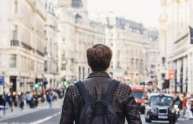 strolling through London