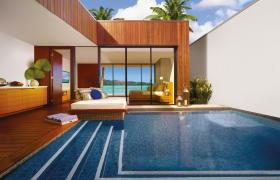hayman island resort pool beach accommodation