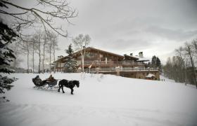 Stein Eriksen Lodge Sleigh ride