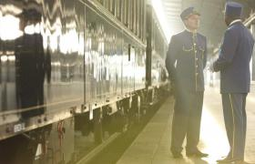 Venice Simplon-Orient-Express Train Conductor