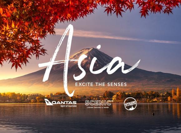 Asia excite the senses