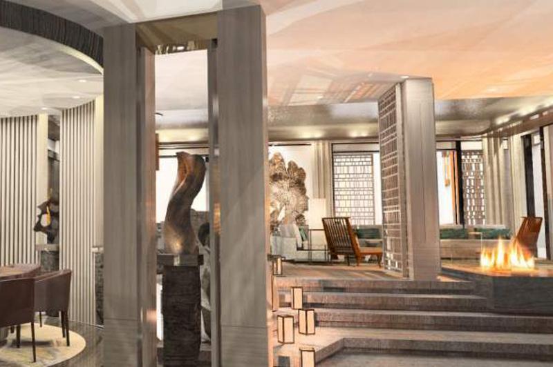 The Japanese-inspired Nobu Villa at Caesar's Palace. Picture: Caesar's Palace.