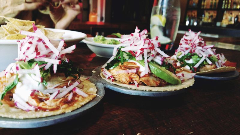 local food in mexico - tacos