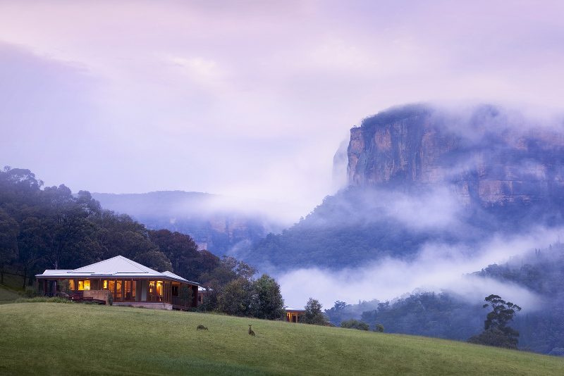 Emirates One&Only Wolgan Valley luxury Australian resort